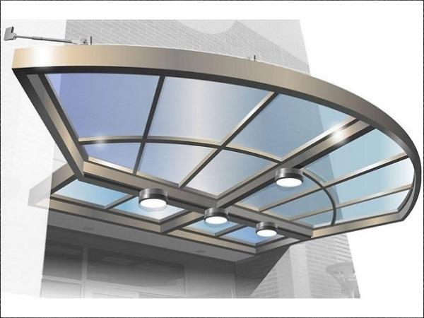 MASA Architectural Canopies Announces Its Brand New Product Glass Canopy System