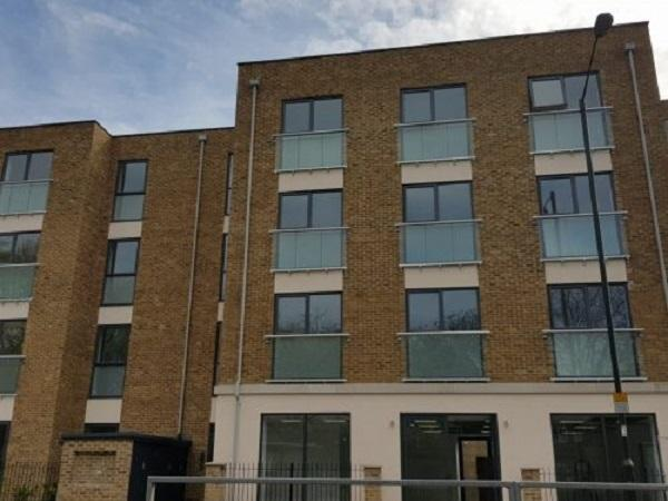 Astraseal supply frames to New Build West Barnes Lane development