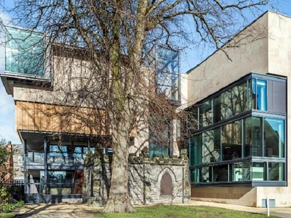 CMS glazes award-winning Carnegie Library project