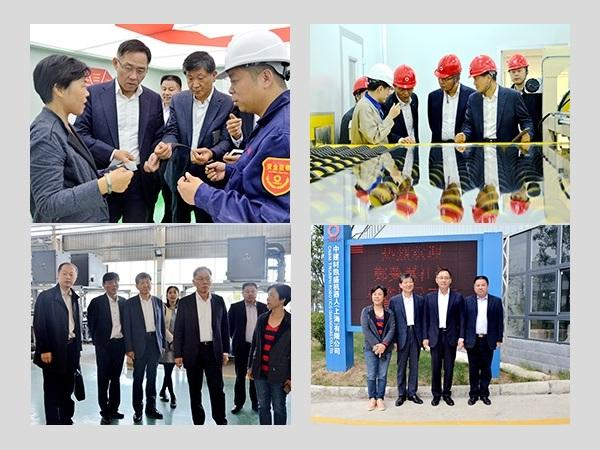 President of KCC Visits Enterprises of Triumph Group in Bengbu