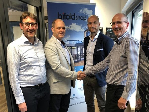 Lance Gillett, Customade Group; Alan Stanway, Director; Damon Smith, Director; John Adams, Customer Service Director Customade Group