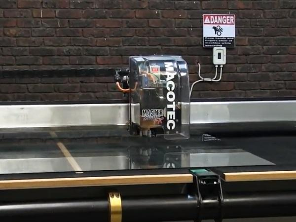Fast, precise glass cutting: Panoramic Components' Macotec cutting table