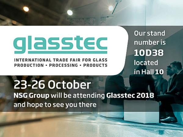 NSG Group to Exhibit at Glasstec 2018