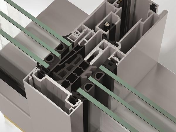 schüco s fws 60 cv façade system one hundred units for one
