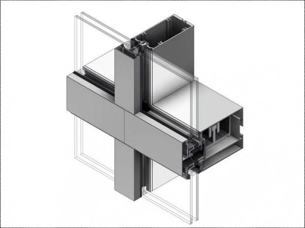 Now Available Thermawall Xtrm2600 Unitized Thermally Broken Curtain Wall By Alumicor Glassonweb Com