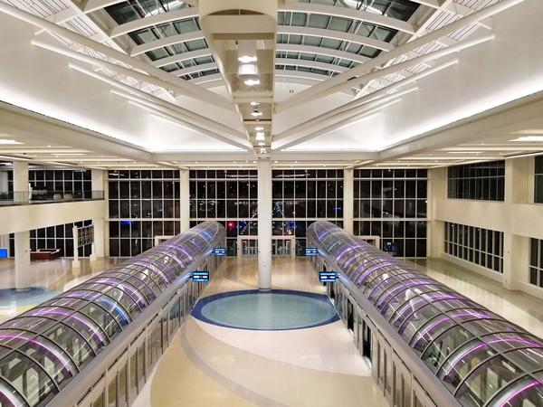 Orlando International Airport | Acurlite Structural Skylights Inc.