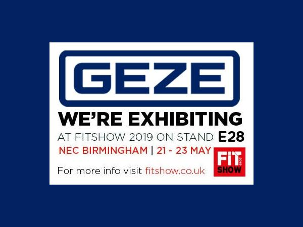 GEZE UK finds showcase a FIT
