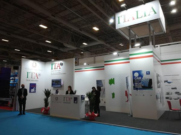 Favorable debut for GIMAV businesses at Eurasia Glass 2019