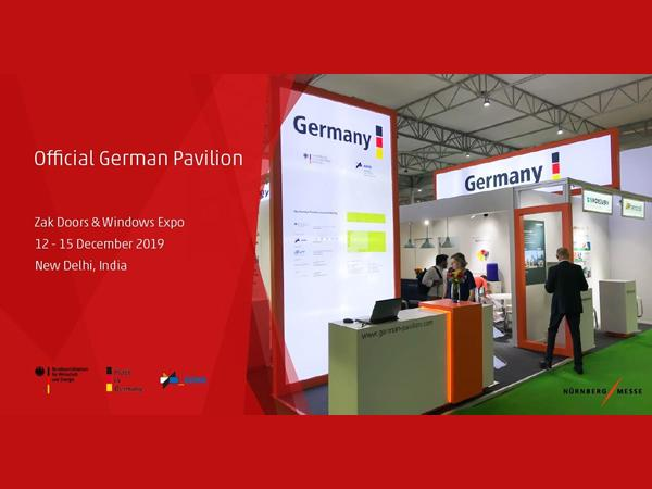 Official German Pavilion at ZAK Doors & Windows Expo