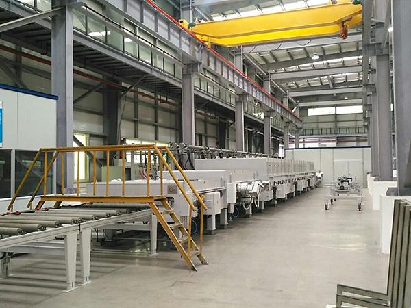 NorthGlass low-e coating line for JOMOO in China