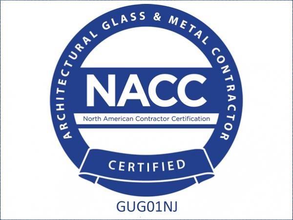 Guthrie Glass Latest to Achieve NACC Certification
