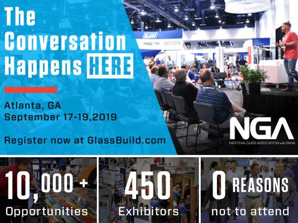 NGA Announces Glazing Executives Forum Programming - Held in conjunction with GlassBuild America
