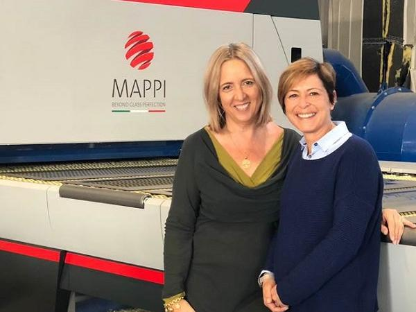 Patrizia Bau with Nancy Mammaro from Mappi