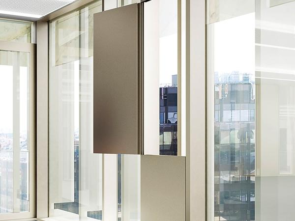 For aluminium windows flush with the surface: Roto hardware concepts based on requirements