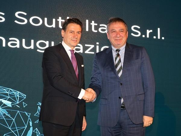 Şişecam inaugurated Manfredonia plant with an opening ceremony