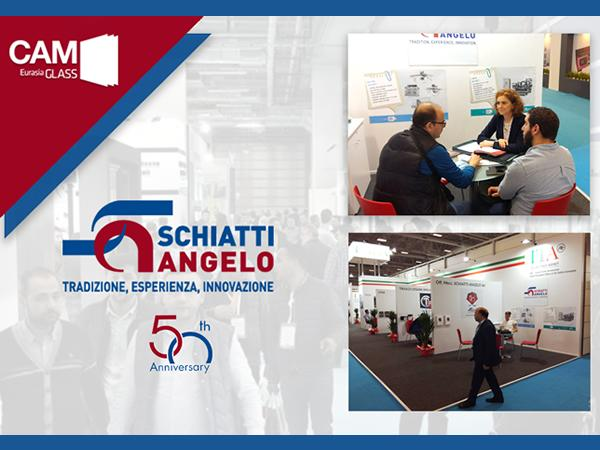 Schiatti Angelo returns from the Eurasia Glass Fair 2019
