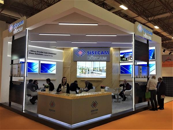 Şişecam Flat Glass Exhibits its Products at Solarex Istanbul Fair