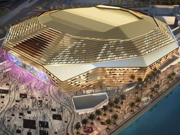 Wintech-Group-Roof truss Lifted for Yas Arena