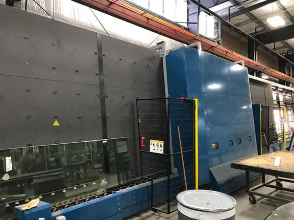 Lisec Automated Insulating Glass Line