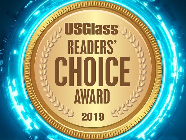 """Yes, we did it again!"" Mappi wins 2019 USGlass Magazine Reader's Choice Award"