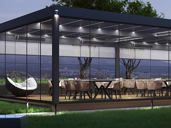 Bioclimatic Pergolas by Alumil: Ultra-modern equipment for unique relaxing moments