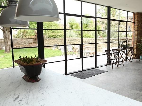 Bring steel windows and doors into the kitchen | SWA | glonweb.com on