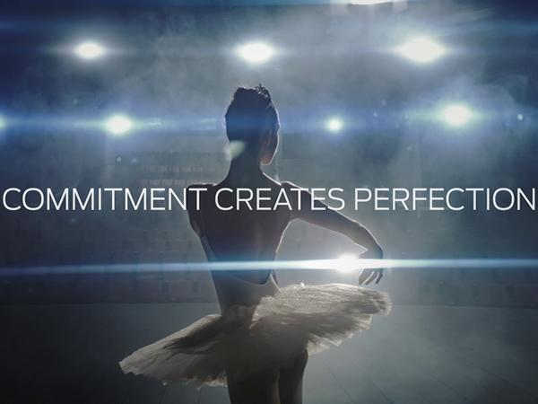 "Online the new Forel video ""Commitment creates perfection"""