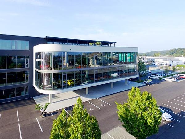 The newly created business park in Langenthal features insulating glass from Glas Trösch