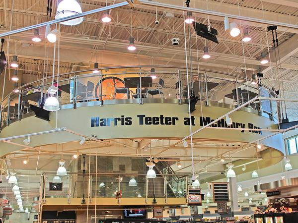 Harris Teeter - Southpark Glass Railing
