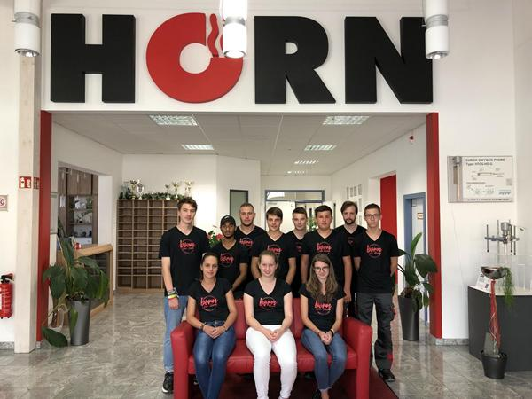 HORN Glass Industries hires 11 new apprentices