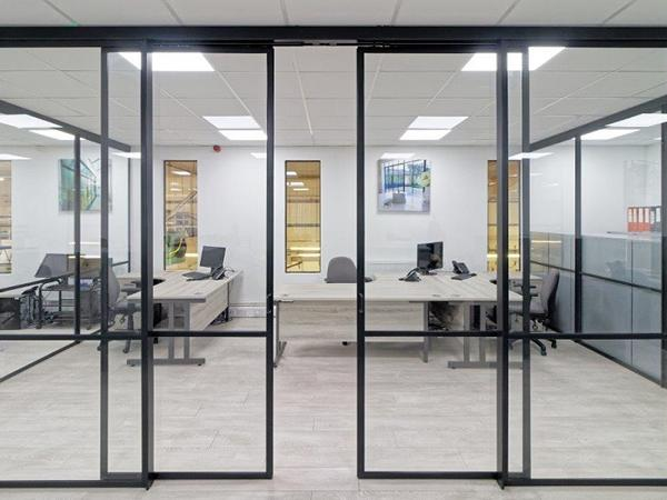 Steel Window Association: Internal steel sliding doors complement high-end design aesthetic