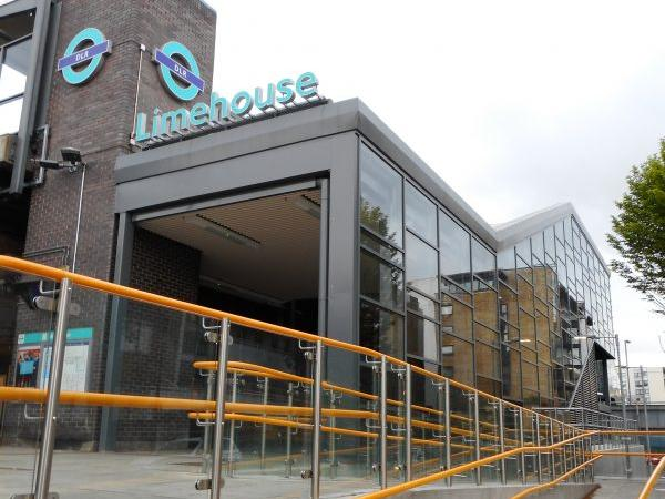 Curtain wall installation completed at Limehouse Station