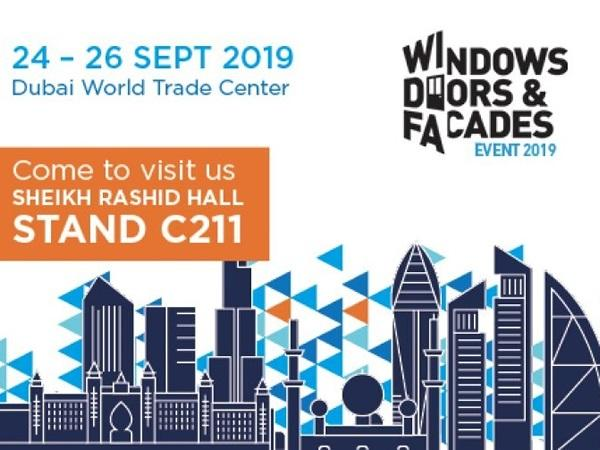 Master at Windows, Doors & Facades Dubai, 24-26th September