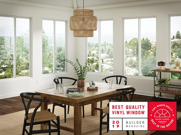 Milgard Recognized as #1 for Vinyl Window Quality Nationwide