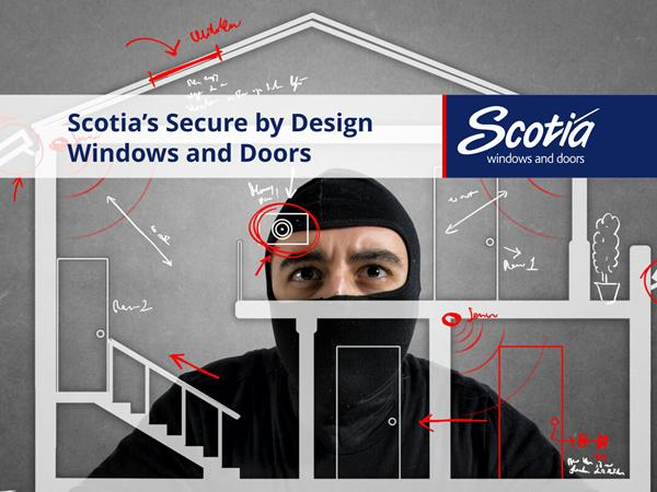 Highly secure windows and doors manufactured by Scotia Windows and Doors