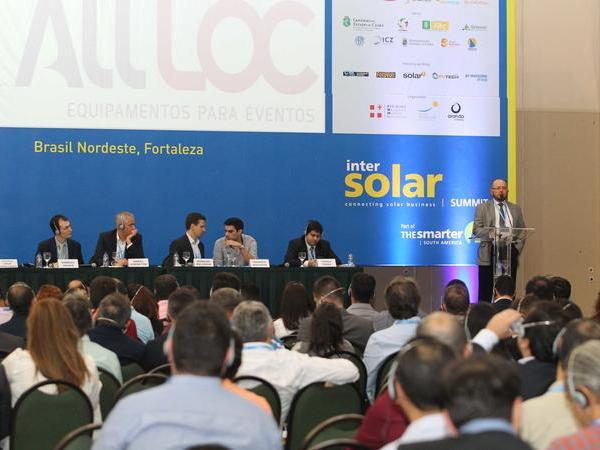 Solar PV Markets in Brazil's Northeast are on the rise - Intersolar Summit Brasil Nordeste unites all stakeholders in Fortaleza