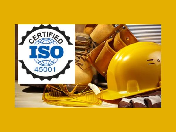 Bovone ISO 45001 certified company
