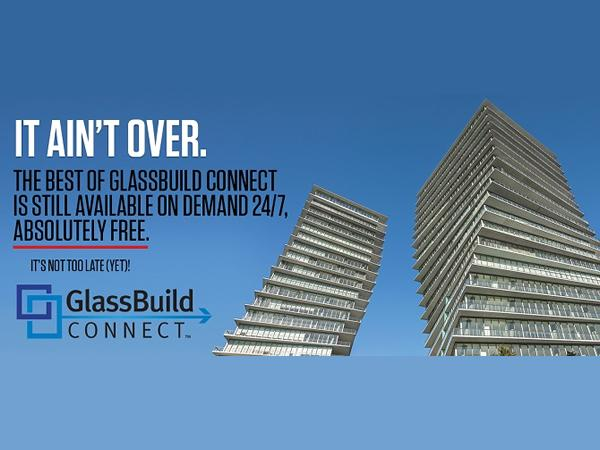 GlassBuild Connect: You get another chance