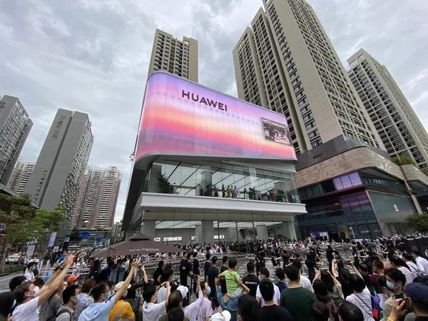 Jade box opened, with unlimited possibilities – the super glass of NorthGlass assisted the opening of Huawei Smart Life Pavilion