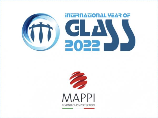 "Mappi proudly supports the ""2022 UN Year of Glass"" initiative"