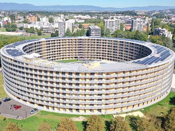 The Vortex student residence - a building with bold architecture | Glas Trösch