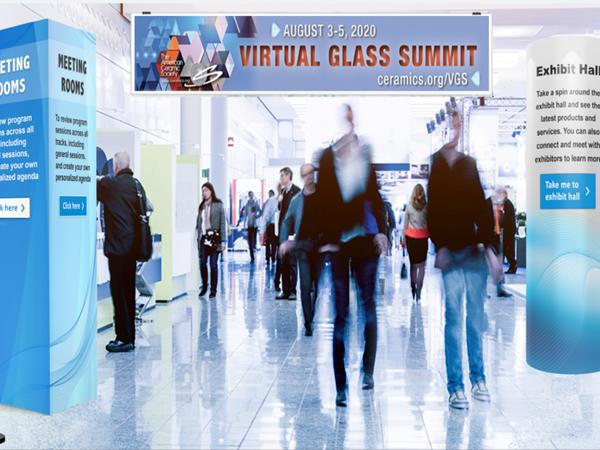 ACerS first virtual conference, the Virtual Glass Summit, took place Aug. 3–5, 2020.