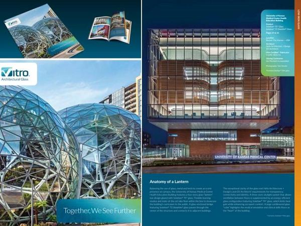 Vitro Architectural Glass publishes new glass catalog