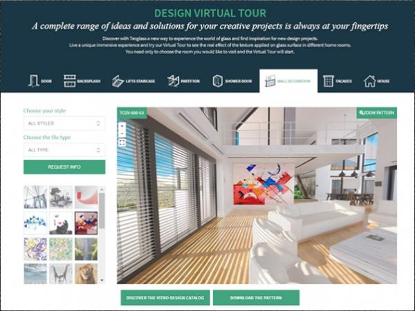 Design Virtual Tour. Ideas and inspiration for full-on creative projects.