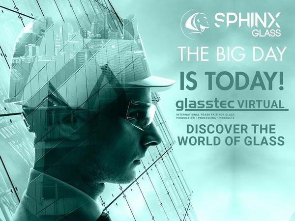 Join Sphinx Glass at glasstec VIRTUAL