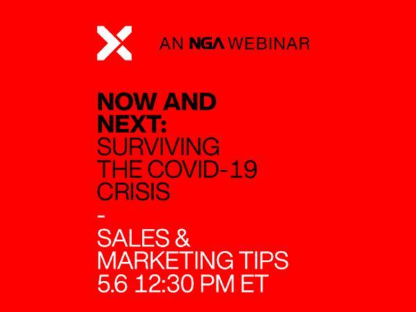 Now and Next: How to Survive and Thrive in a COVID-19 World: Sales and Marketing Steps