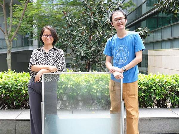 NTU scientists develop energy-saving 'liquid window'