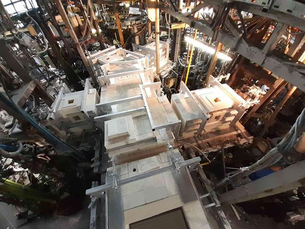 HORN® successfully completes the reconstruction of a 25 t / d electric furnace for Nachtmann GmbH