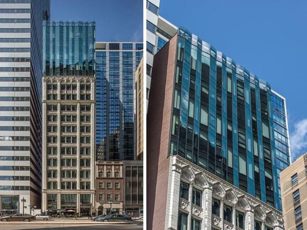Solarban® 90 glass helps convert historic Chicago building into boutique hotel
