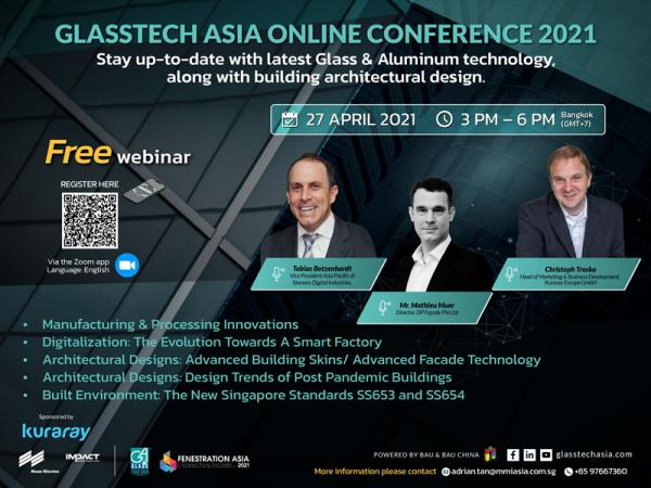 Glasstech Asia / Fenestration Asia Online Conference 2021